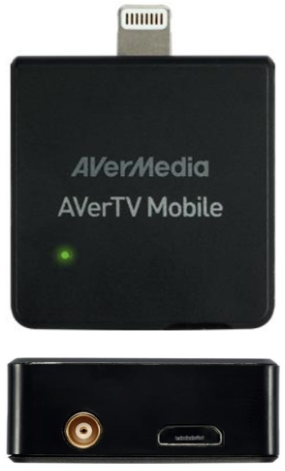 AverMedia - TV & Rádió Adapter - AVerMedia AVerTV EW330 Lightning DVB-T TV tuner