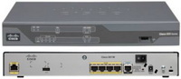 Cisco - Router - Vezetékes - Cisco C881-K9 Security Router