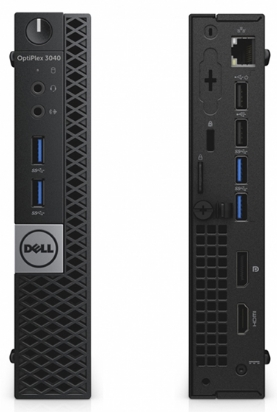 Dell - PC Szerelt Gépek - Dell Optiplex 3050 Micro i5-7500T 8G 256GB Linux